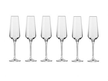 Avant-Garde Champagne Flute 180ML 6pc Gift Boxed