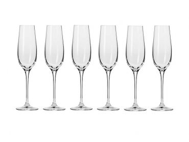 Harmony Champagne Flute 180ML 6pc Gift Boxed