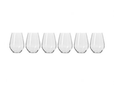 Harmony Stemless Wine Glass 540ML 6pc Gift Boxed
